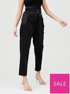 river-island-river-island-d-ring-velvet-trouser-black