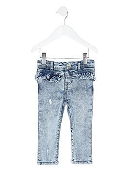 river-island-mini-girls-acid-wash-molly-frill-skinny-jeans-blue