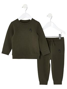 river-island-mini-boys-sweatshirt-and-jog-pant-set-khaki