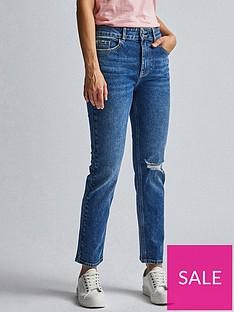dorothy-perkins-slim-leg-jeans-indigo