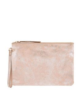 monsoon-freeda-foil-print-leather-clutch-bag-pink