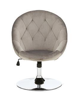 odyssey-velvet-leisure-chair-grey