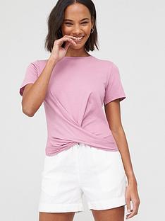 v-by-very-twist-hem-t-shirtnbsp--pink