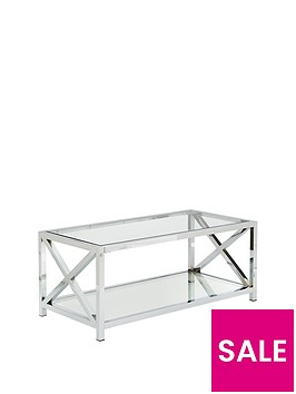 christie-glass-and-chrome-coffee-table