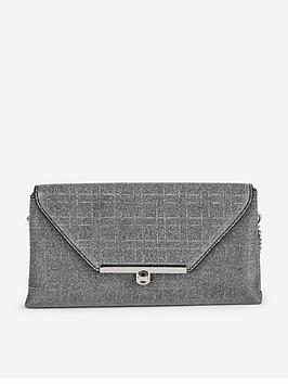 dorothy-perkins-dorothy-perkins-twistlock-nisco-clutch-bag-silver