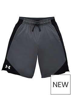 under-armour-childrens-stunt-20-shorts-greyblack