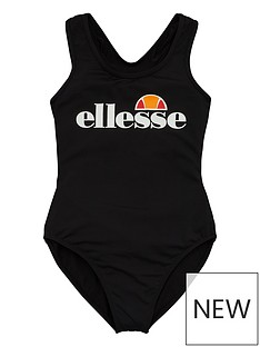 ellesse-older-girls-wilima-swimsuit-black