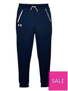 under-armour-childrens-pennant-tapered-pants-navywhite