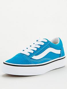 vans-childrens-old-skool-blue-white