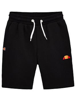 ellesse-older-boys-toyle-shorts-black