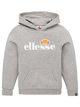 ellesse-older-boys-jero-pullovernbsphoodie-grey