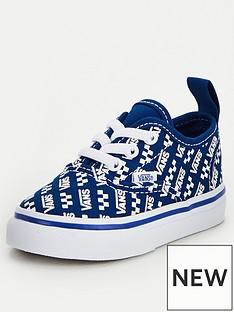 vans-authentic-elastic-lace-logo-repeat-toddler-plimsolls-bluewhite