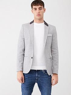 river-island-grey-skinny-fit-jersey-blazer
