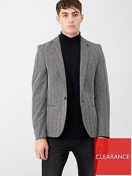 river-island-grey-textured-skinny-fit-blazer