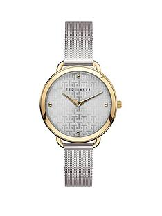 ted-baker-ted-baker-silver-and-gold-detail-dial-stainless-steel-mesh-strap-ladies-watch