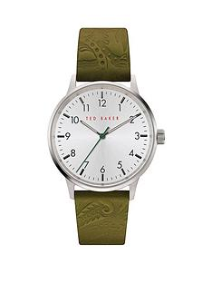 ted-baker-ted-baker-cream-dial-green-leather-logo-embossed-strap-watch
