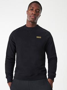 barbour-international-essential-sweatshirt-black
