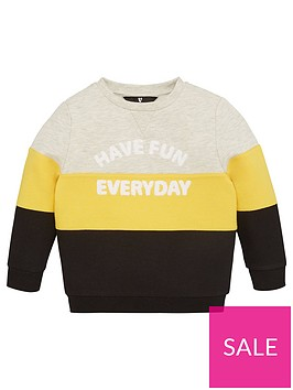 v-by-very-boys-colourblock-have-fun-every-day-sweatshirt