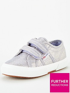 superga-girls-2750-cotj-lame-strap-plimsoll-pumps-violet