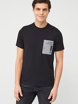 armani-exchange-reflective-print-logo-t-shirt-black