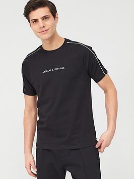 armani-exchange-sleeve-detail-t-shirt-black