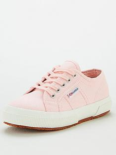 superga-girls-2750-jcot-classic-lace-up-plimsoll-pumps-pink