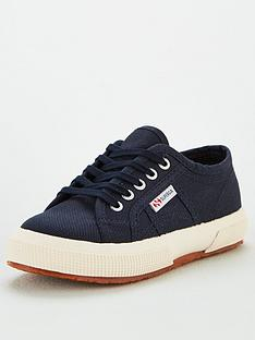 superga-boys-2750-jcot-classic-lace-up-plimsoll-pumps-navy