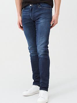 armani-exchange-j14-skinny-fit-dark-wash-jeans-indigo