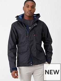 barbour-doridge-wax-hooded-jacket-navy