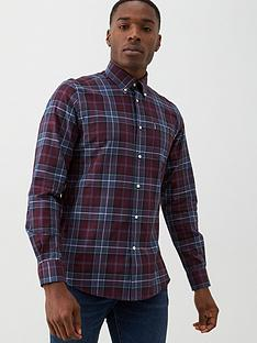 barbour-connel-checked-shirt-merlot