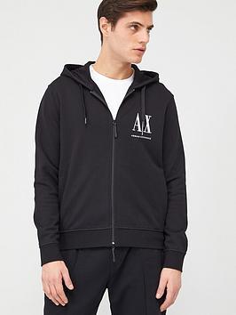 armani-exchange-icon-ax-logo-zip-through-hoodie-black