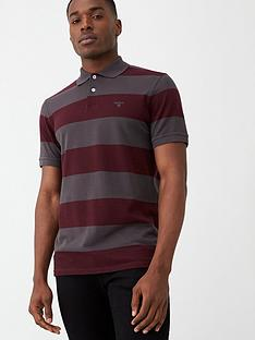 barbour-harren-striped-polo-shirt-merlotgrey