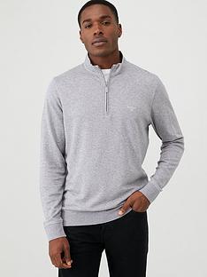 barbour-batten-sweater-grey