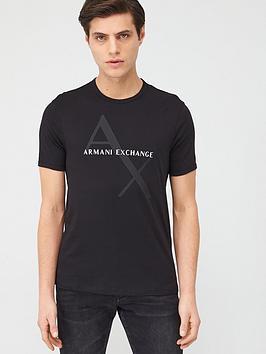 armani-exchange-ax-tonal-logo-t-shirt-black