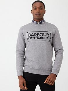 barbour-international-large-logo-sweatshirt-grey-marl