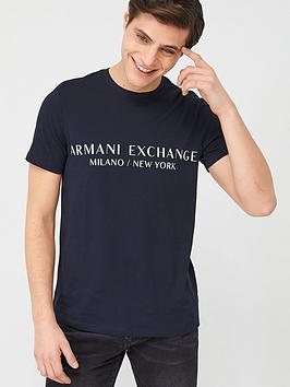 armani-exchange-milano-logo-t-shirt-navy
