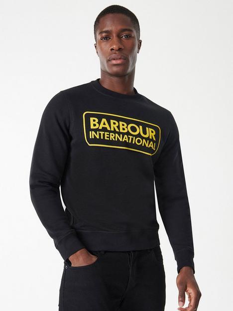 barbour-international-large-logo-sweatshirt-black