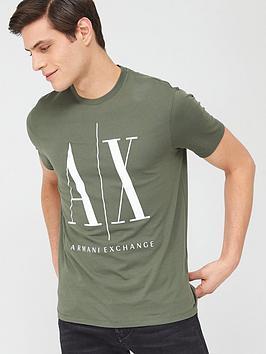 armani-exchange-icon-ax-logo-t-shirt-beetle-khaki