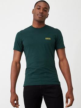 barbour-international-essential-small-logo-t-shirt-pine-green