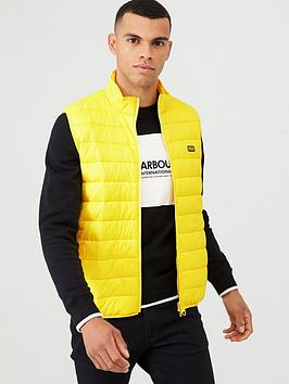 barbour-international-reed-quilted-gilet-yellow