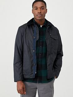 barbour-bunt-wax-jacket-black