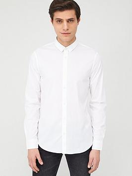 armani-exchange-classic-long-sleeve-shirt-white