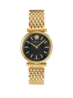 versace-versace-twist-black-sunray-dial-gold-stainless-steel-bracelet-ladies-watch