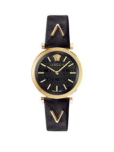 versace-versace-v-twist-black-sunray-and-gold-detail-dial-black-leather-strap-ladies-watch