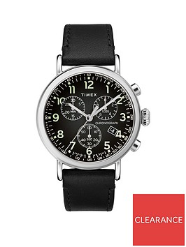 timex-timex-black-and-silver-chronograph-dial-black-leather-strap-mens-watch