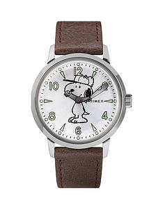 timex-timex-welton-silver-peanuts-dial-brown-leather-strap-watch