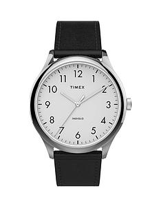 timex-timex-white-easy-read-dial-black-leather-strap-watch