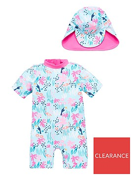 v-by-very-girls-safari-sunsafe-amp-hat-multi