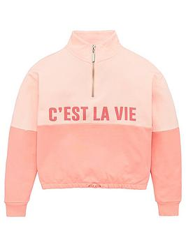 v-by-very-girls-cest-la-vie-sweat-top-pink