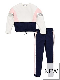 v-by-very-girls-colour-block-sequin-tracksuit-multi